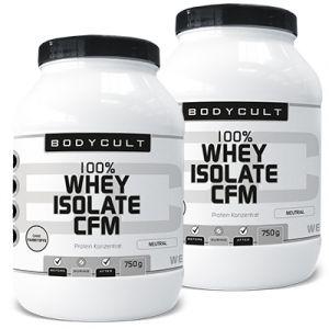 100% Whey Isolate CFM 2er Pack