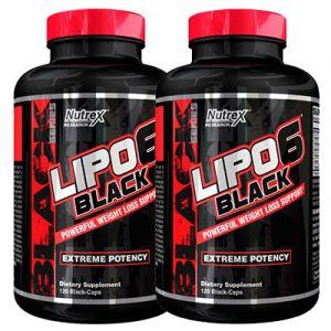 LIPO 6 Black 2er Pack